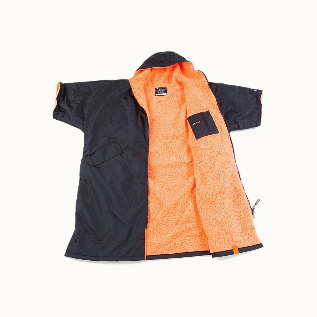 Advance Short Sleeve (Black/Orange)