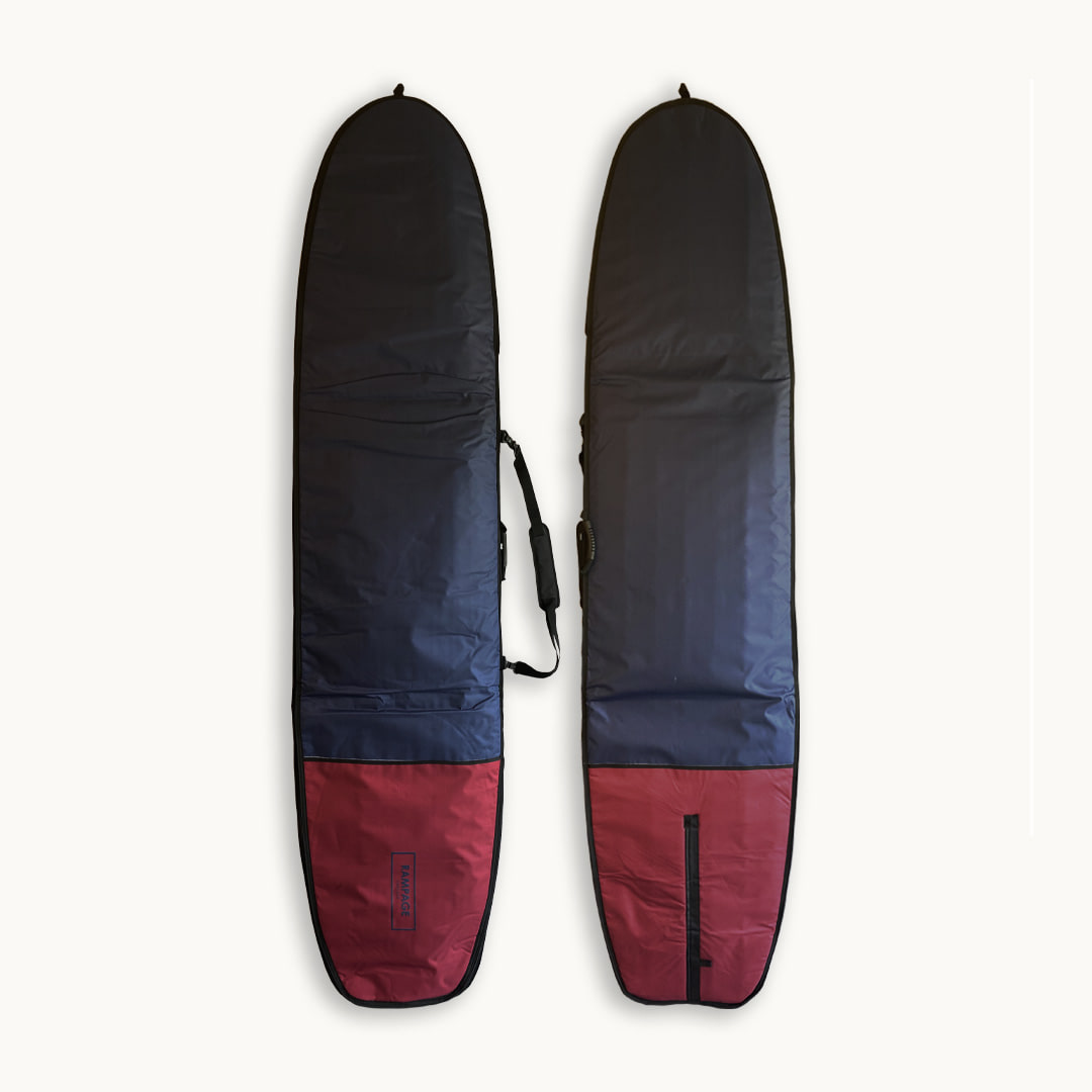 "Surfboard Bag 9'2""~9'6"" Navy/Burgundy"
